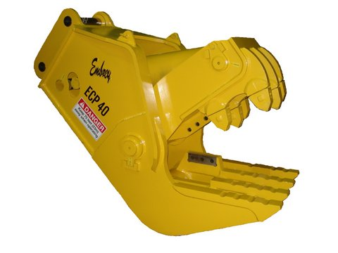 Embrey Attachments Concrete Pulverisers